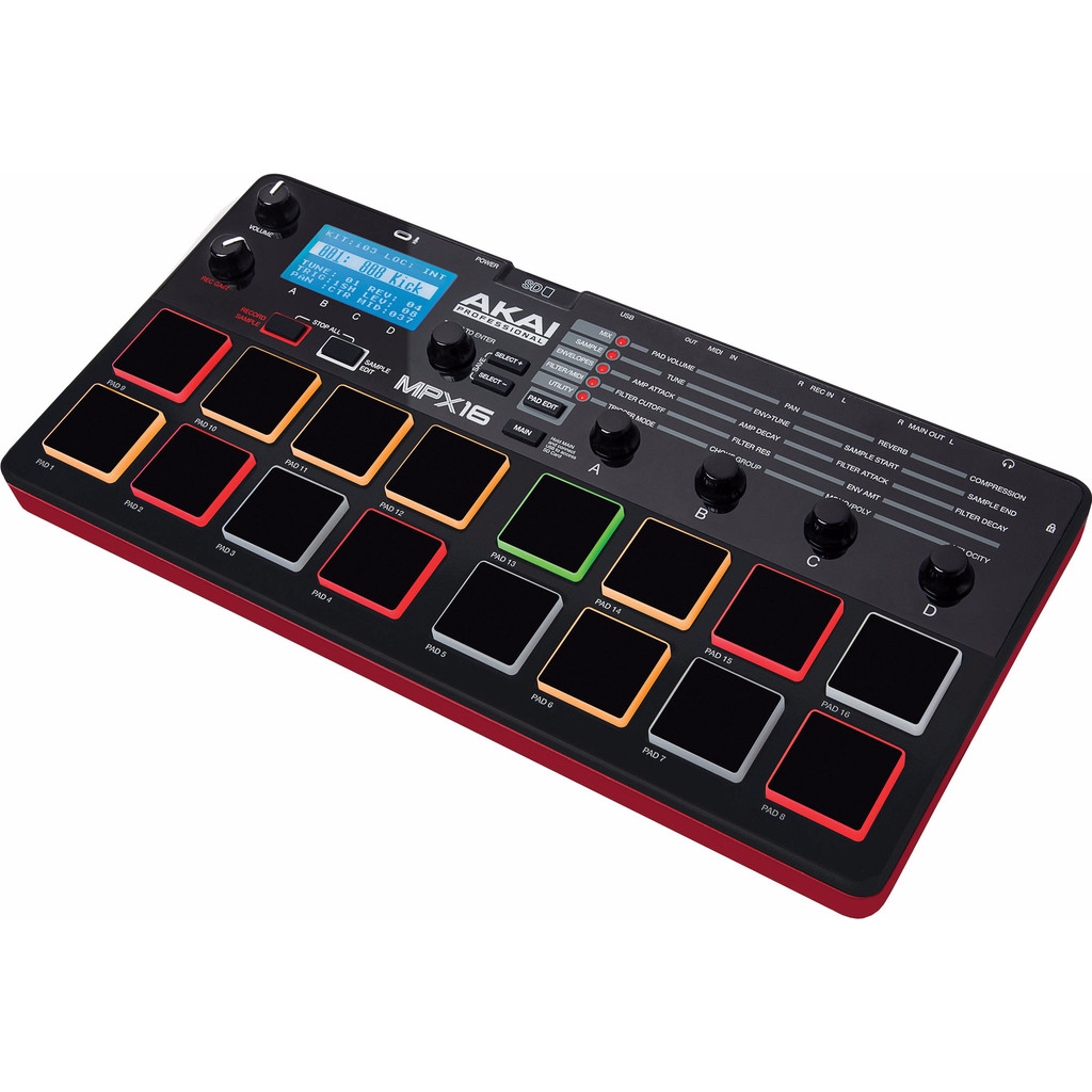 AKAI MPX16 sample recorder-player