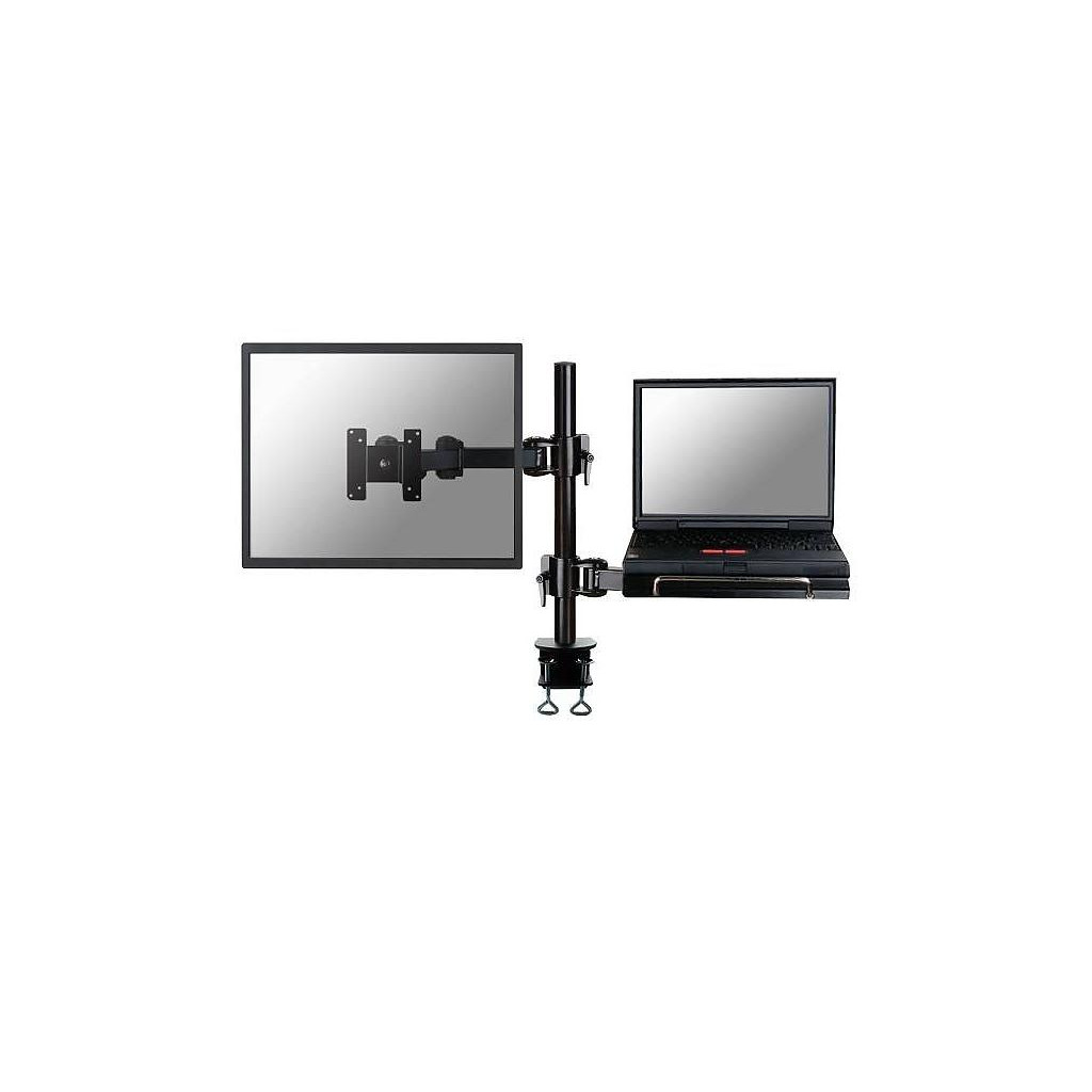 Tweedekans Neomounts by Newstar FPMA-D960NOTEBOOK Monitor- en Laptoparm Zwart Tweedehands
