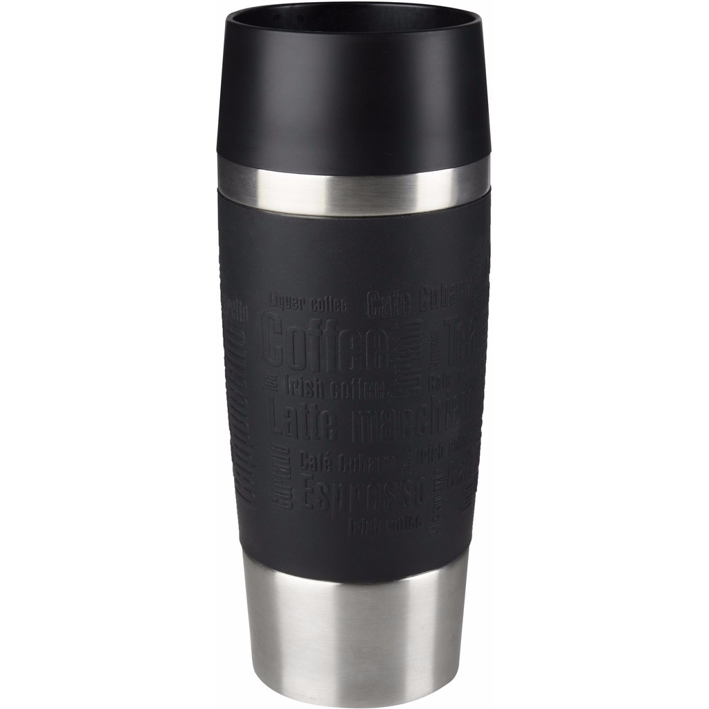 Tefal Travel Mug 0,36 liter RVS/zwart in Boom