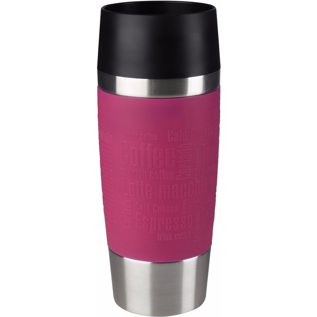 Tefal Travel Mug 0,36 liter RVS/raspberry kopen