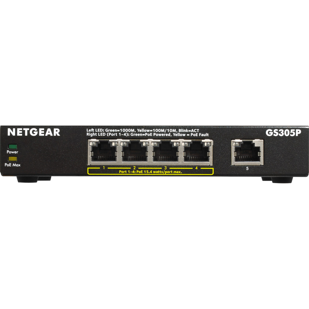 Netgear GS305P in Ledeberg