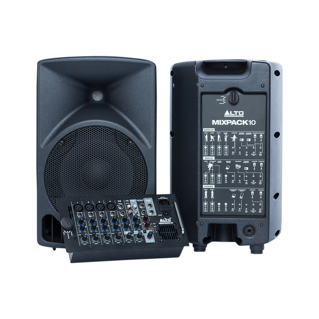 Alto Pro Mixpack 10 (per paar) in Melleschet