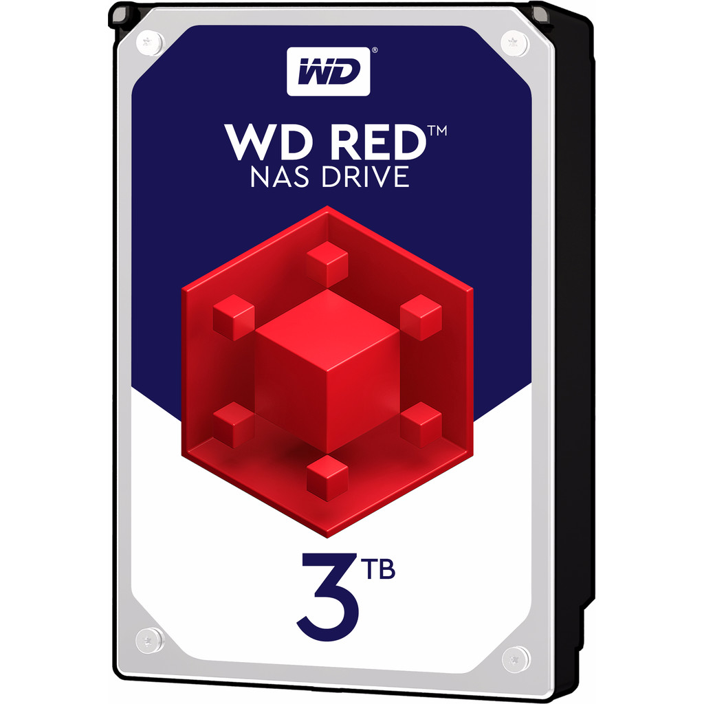 WD Red WD30EFRX 3 TB in Overboelare