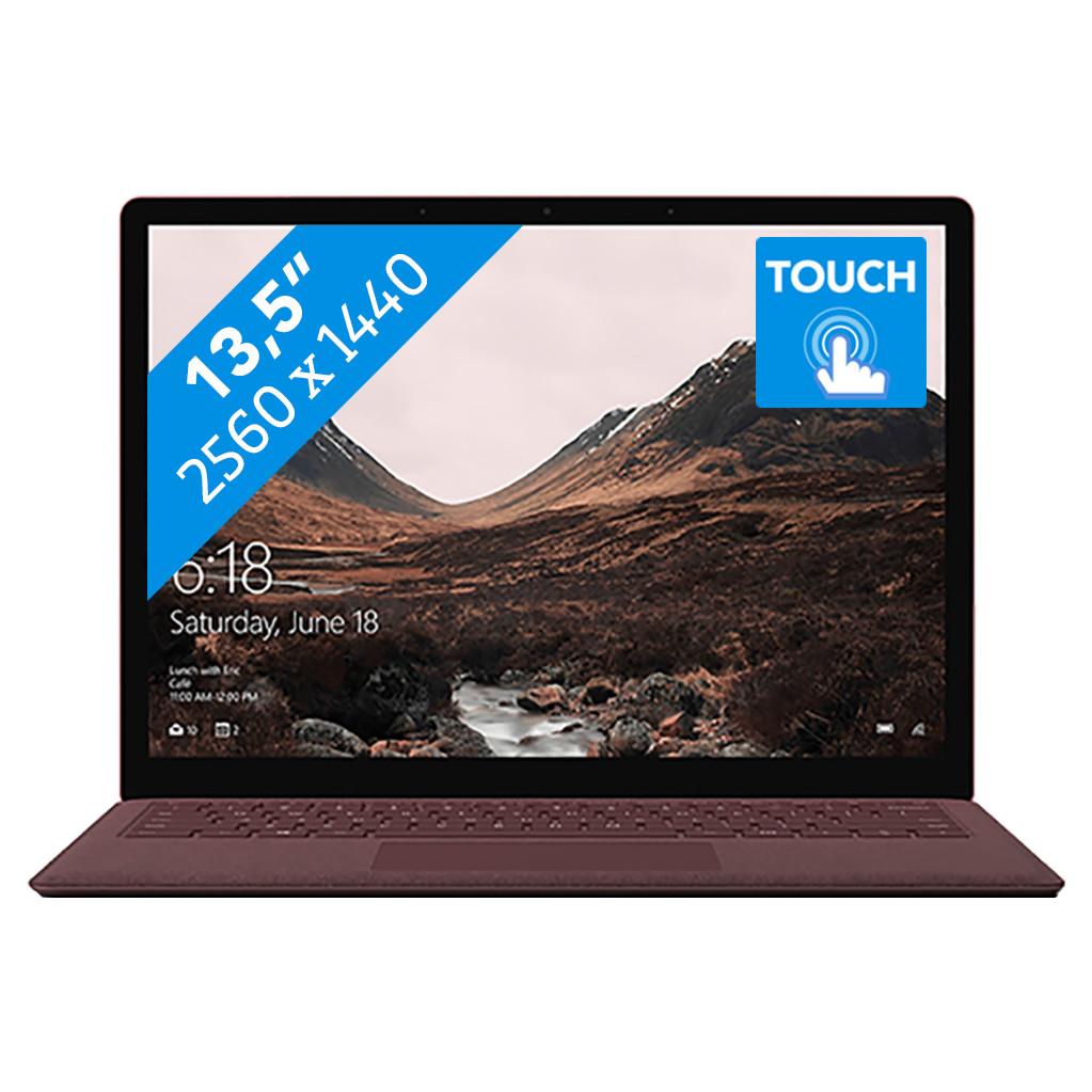 Microsoft Surface Laptop - i5 - 8 GB - 256 GB Bordeauxrood