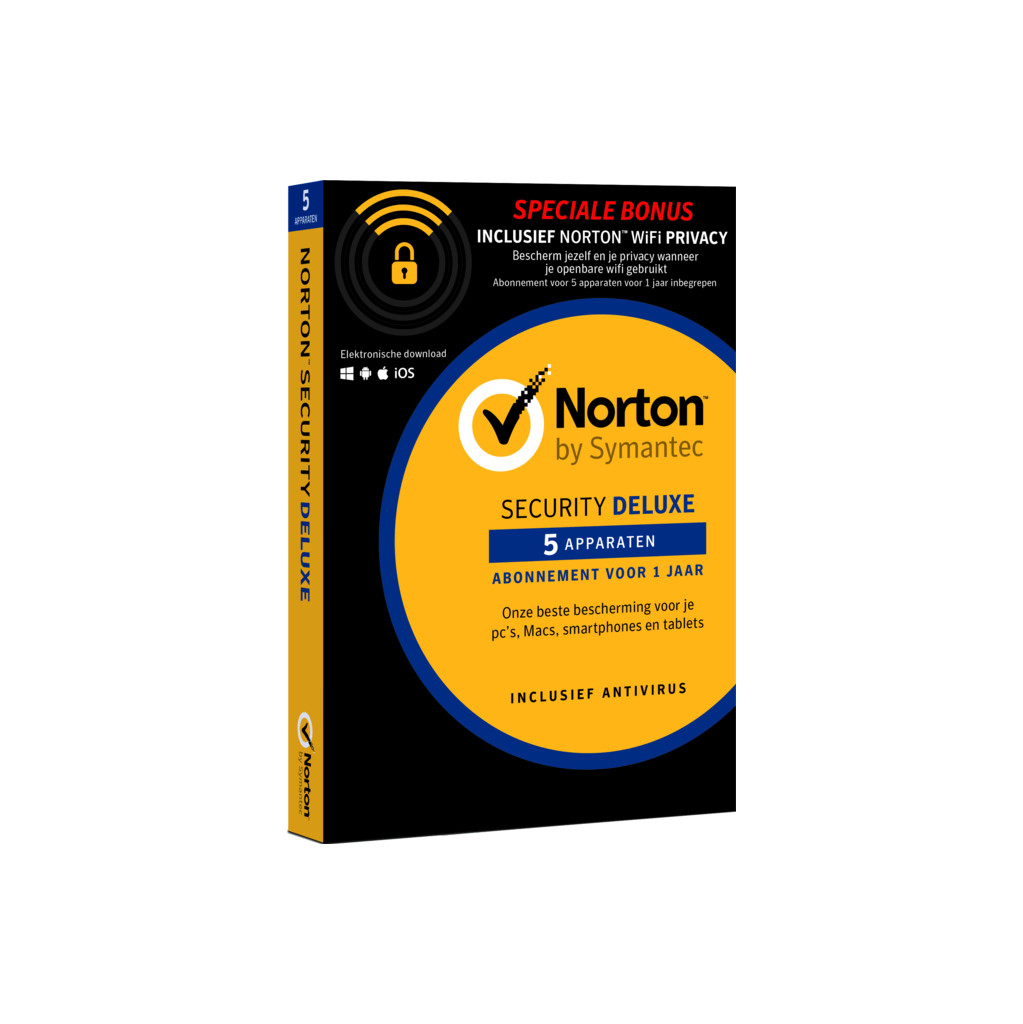 Norton Security 5D & WiFi Privacy 5D in Aartselaar