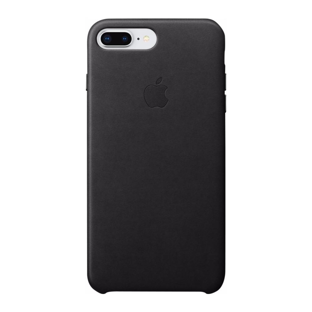 Apple Leren hoesje iPhone 8-7 Plus Zwart