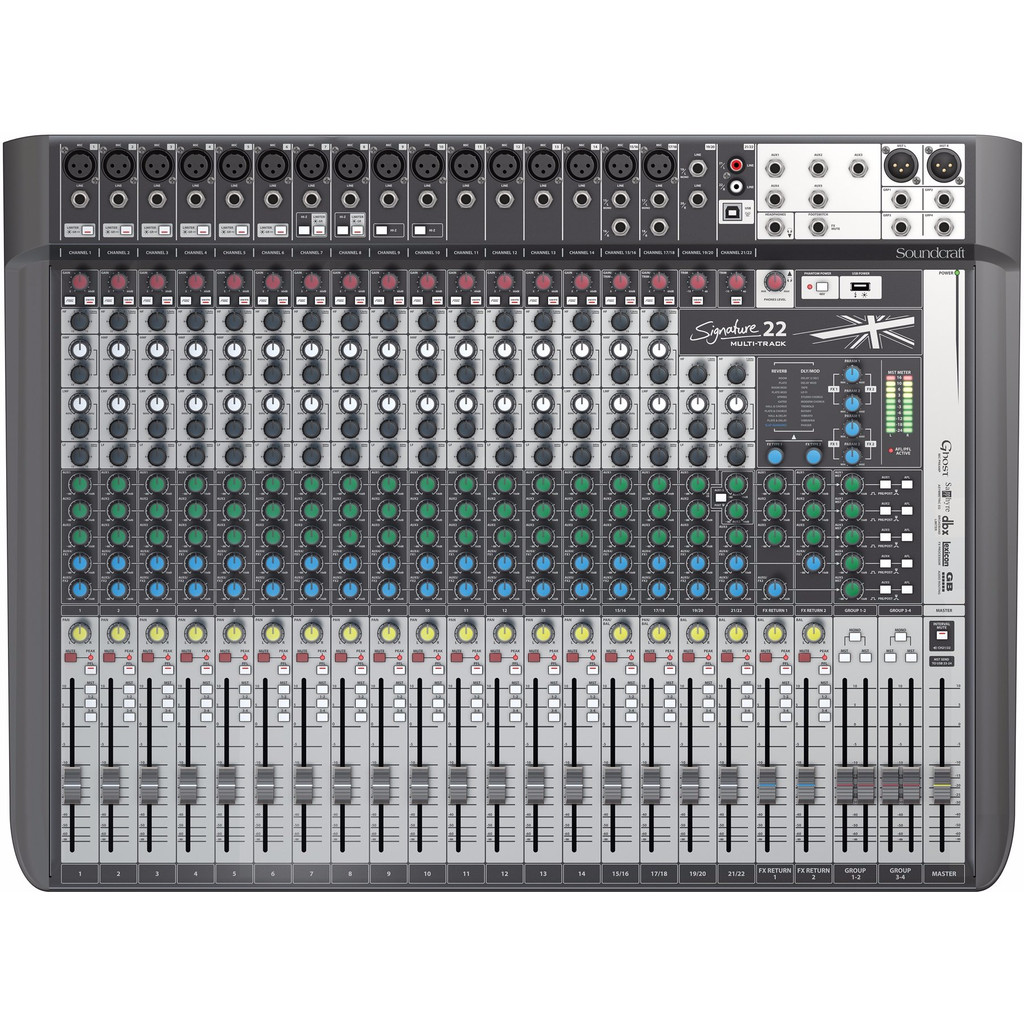 Soundcraft Signature 22MTK in Nieuwebrug