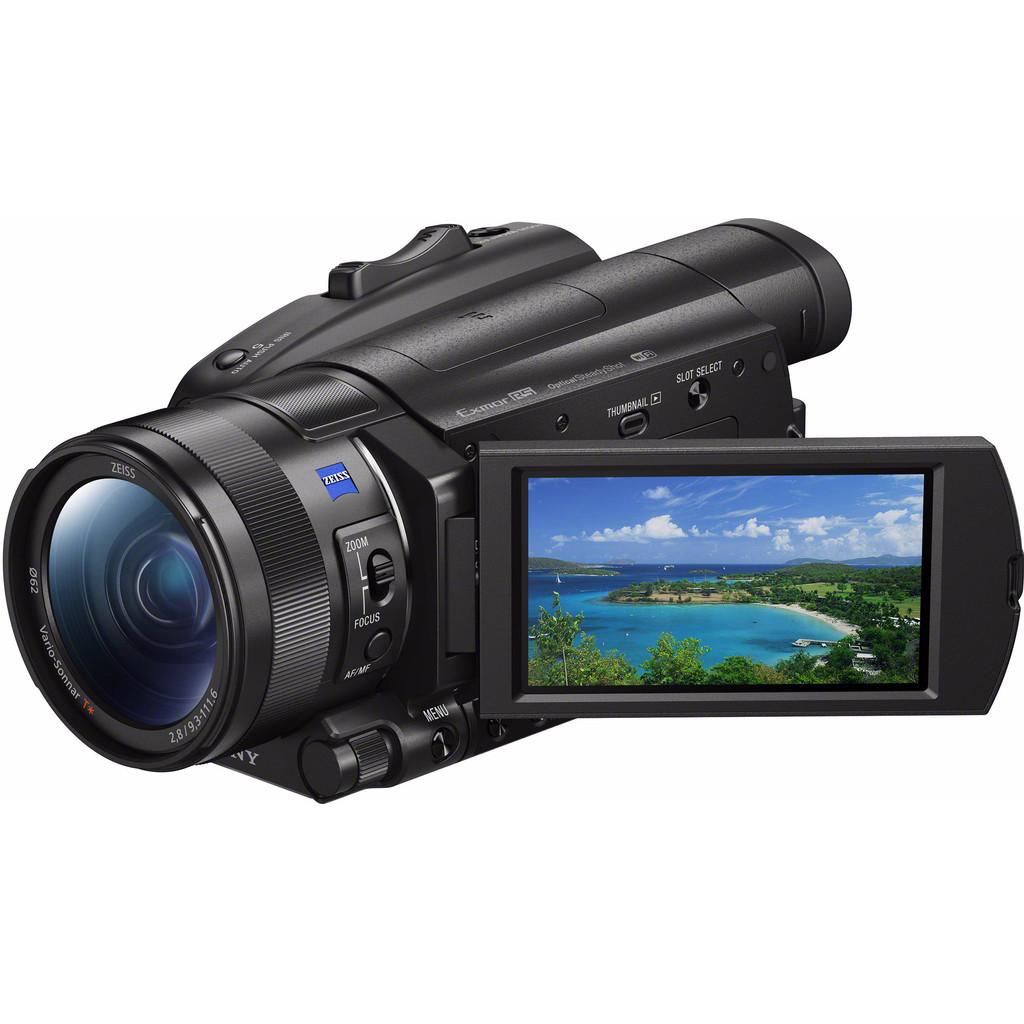 Sony FDR-AX700 4K videocamera Zwart