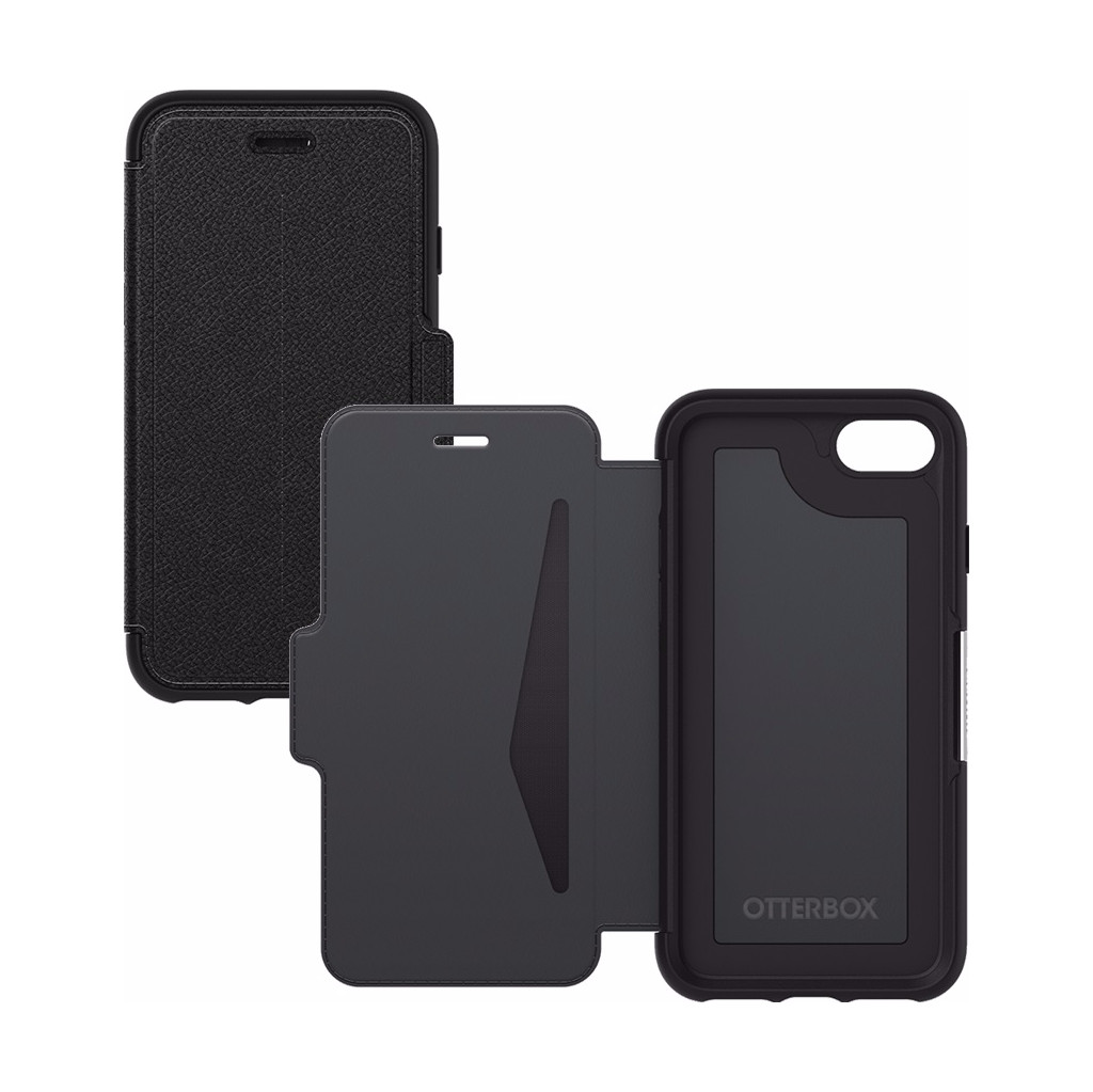 Otterbox Strada Apple iPhone 7/8 Zwart in Walsert