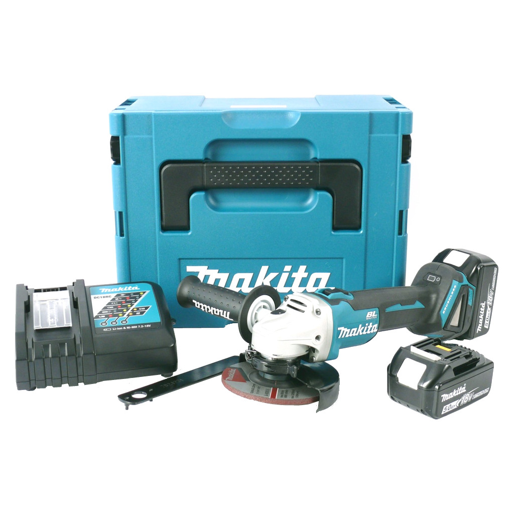 Makita DGA504RTJ in Amsweer