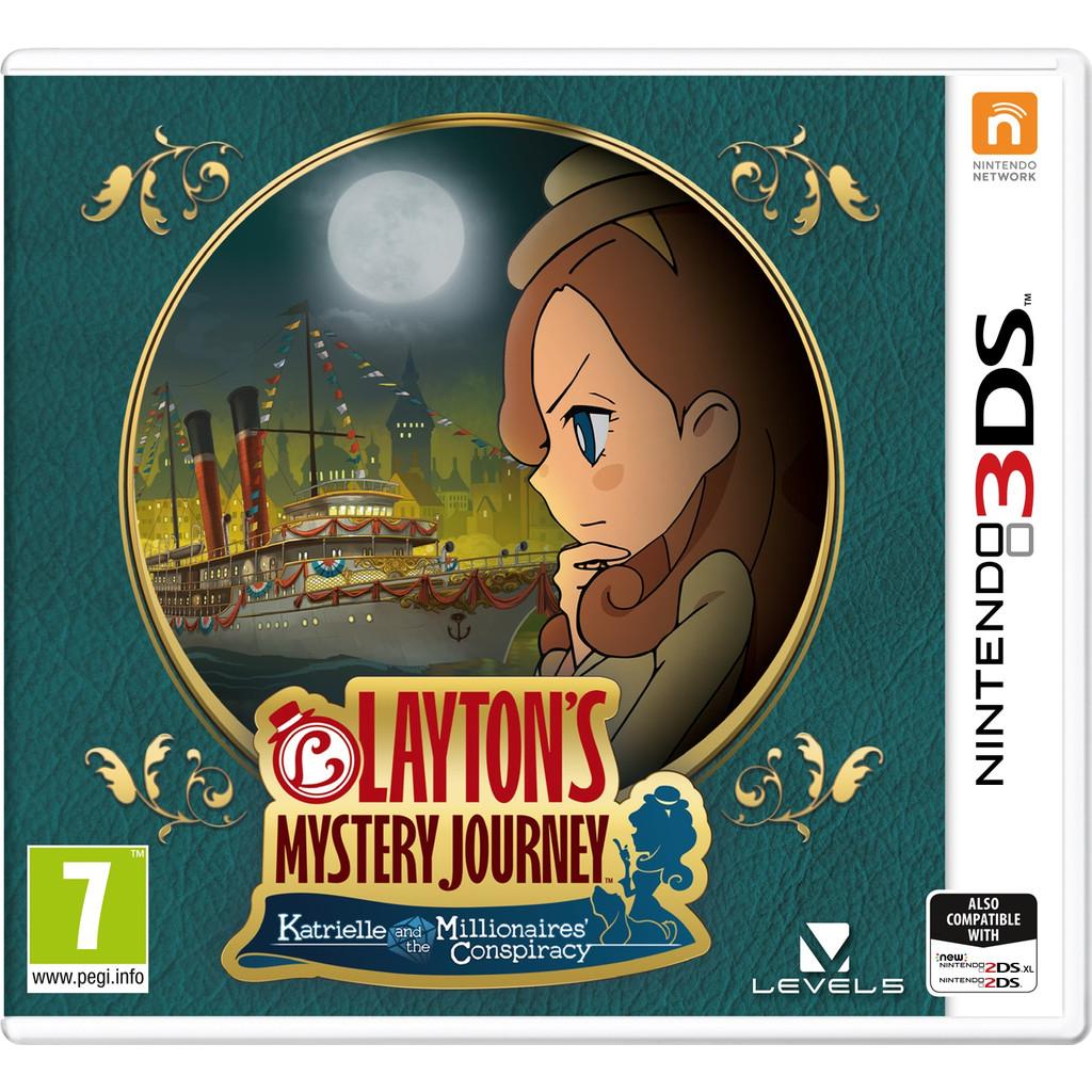Layton's Mystery Journey 3DS