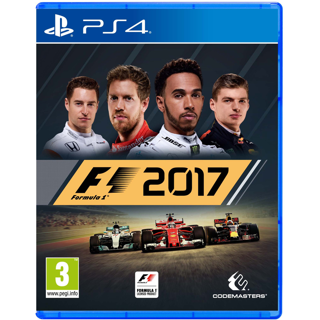 F1 2017 PS4 in Sommethonne