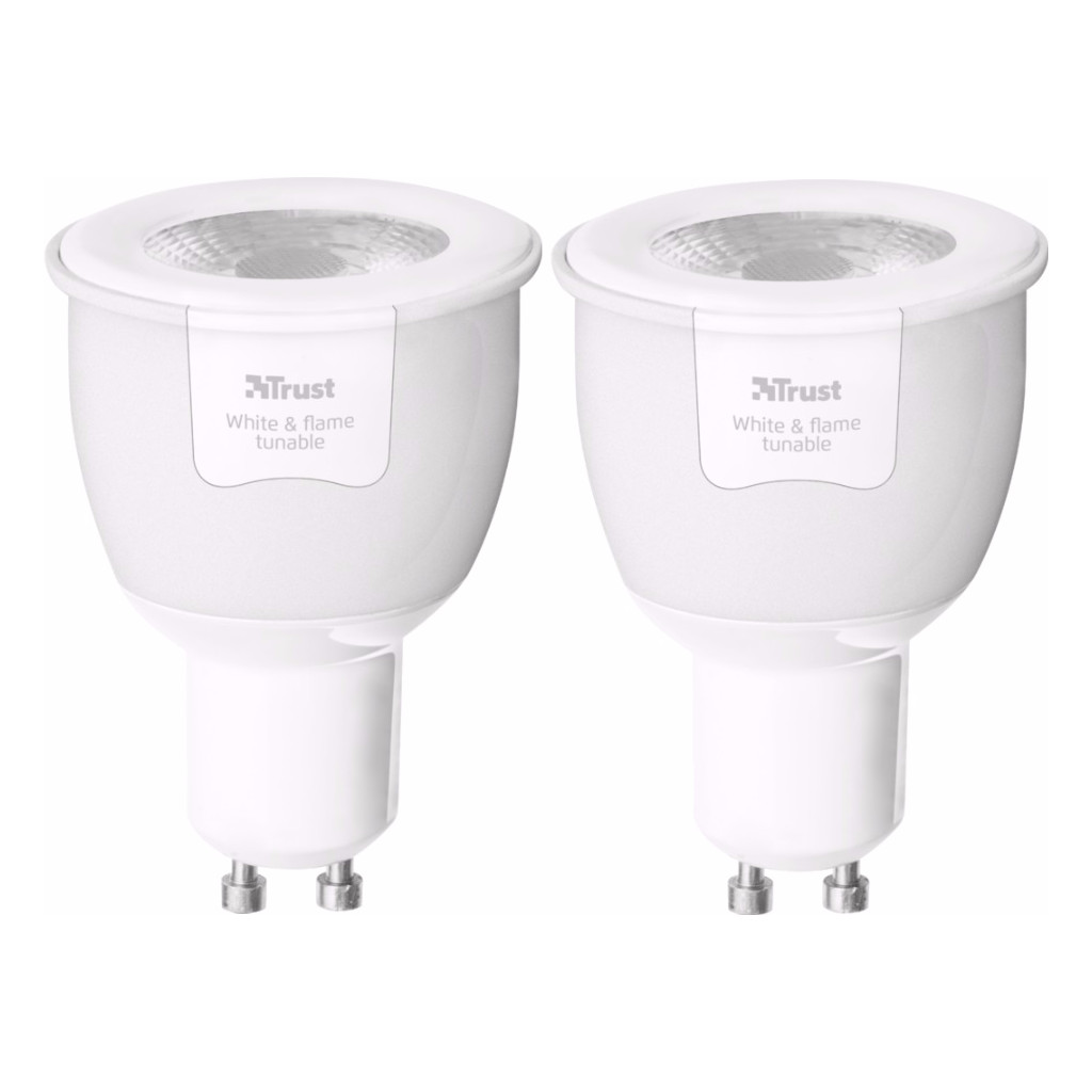 Image of Trust Smart Home White Ambiance GU10 Duopack