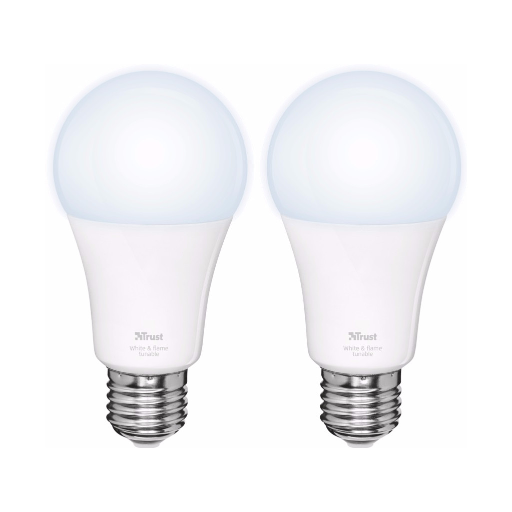 Image of Trust Smart Home White Ambiance E27 Duopack