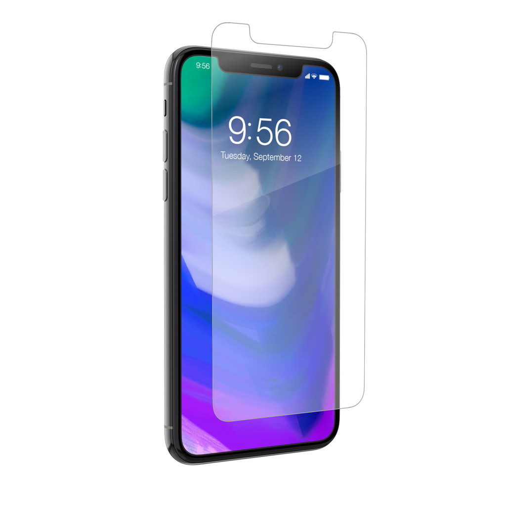 InvisibleShield Case Friendly Apple iPhone X Screenprotector Glas in Voortje