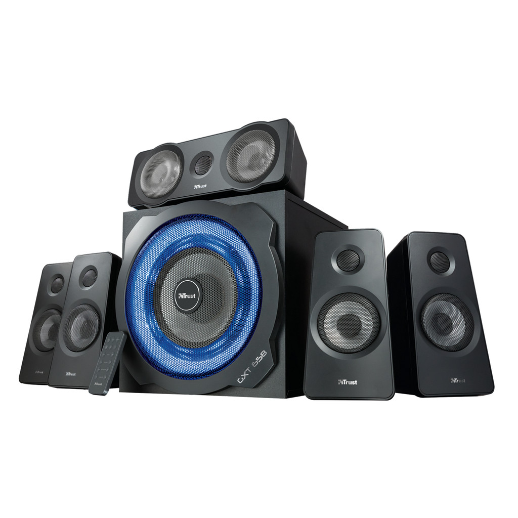 Trust GXT 658 Tytan 5.1 Surround Speaker System in Herveld
