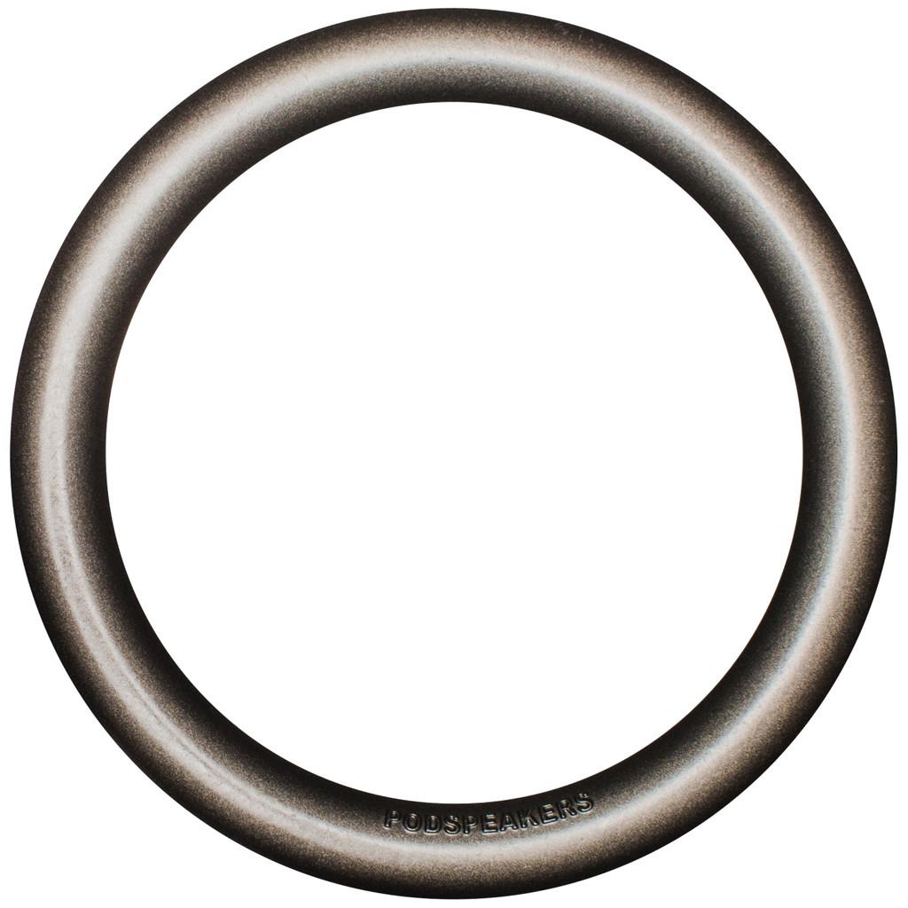 Podspeakers MiniPod Ring Aluminium Donkergrijs in Popuelles