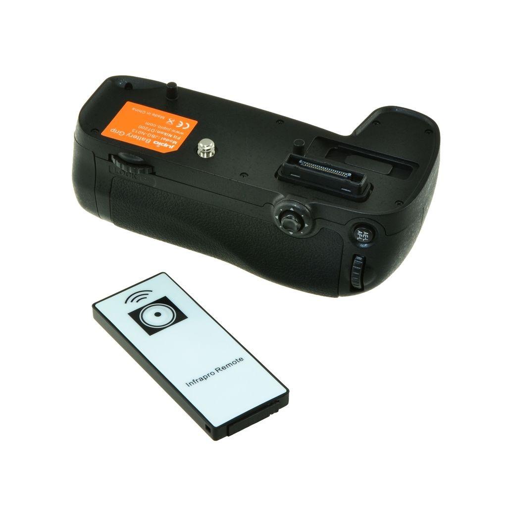 Jupio Batterygrip voor Nikon D7200 in Groenewoud