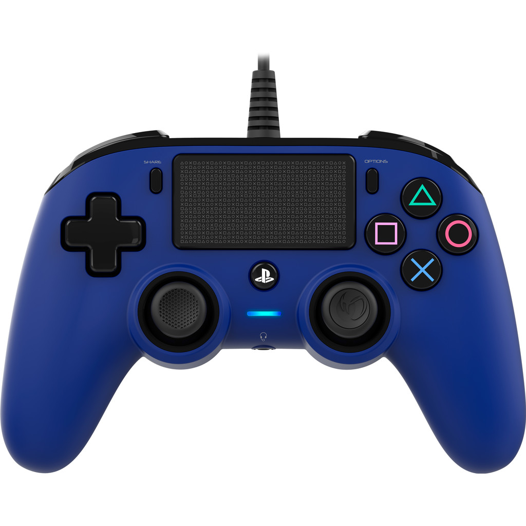 Nacon PS4 Official Wired Controller Blauw in Hoornsterzwaag / Hoarnstersweach