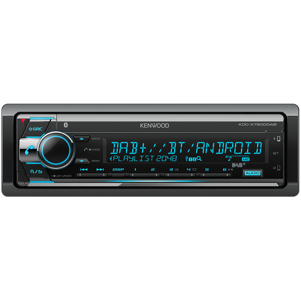 Kenwood KDC-X7200DAB in Sluis 13