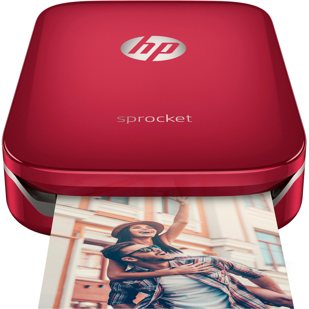 HP Sprocket ZINK (Zero ink) 313 x 400DPI fotoprinter