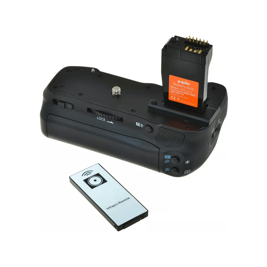 Jupio Battery grip voor Canon 750D/760D (BG-E18) in Archennes