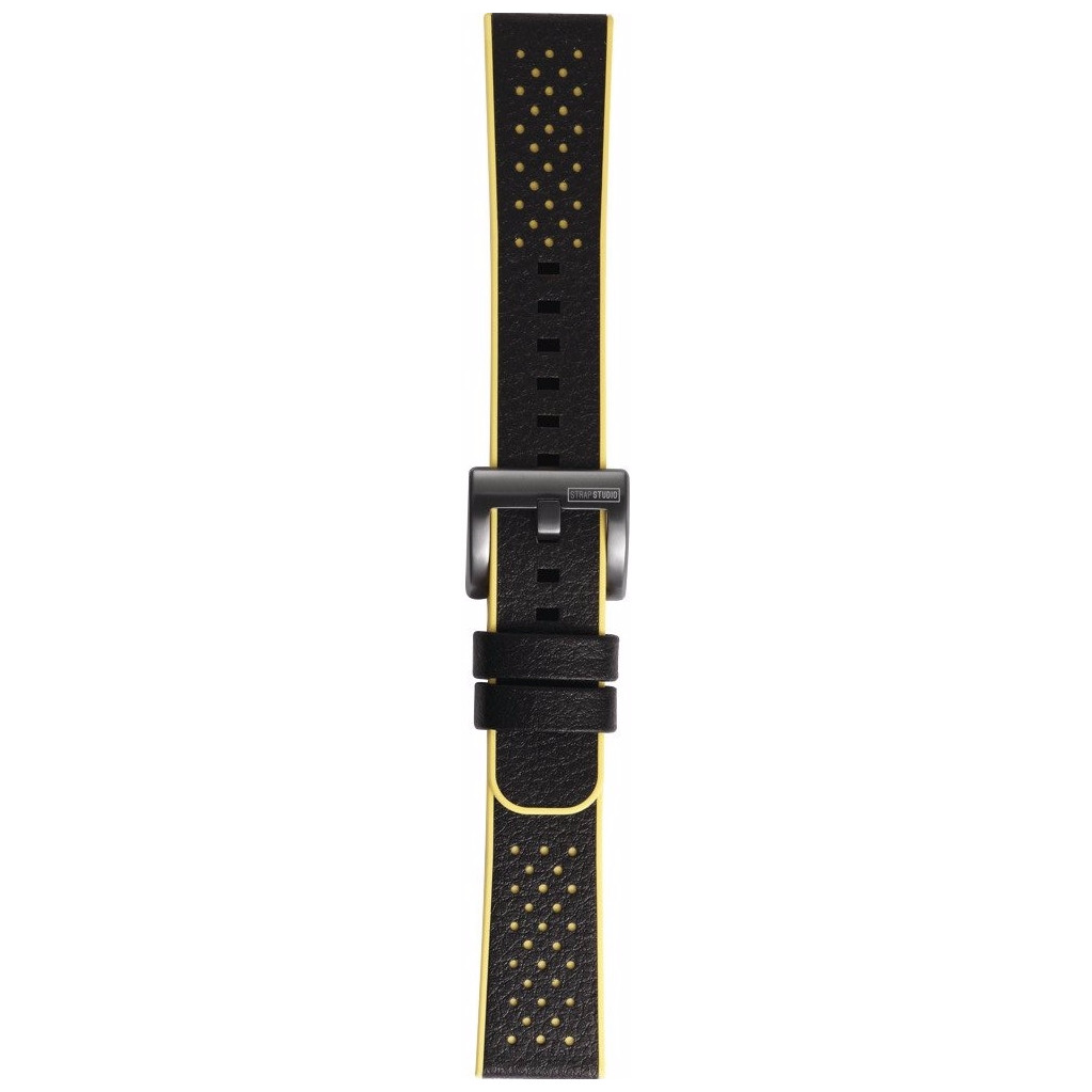 Samsung Gear Sport Hybrid Leren/Kunststof Horlogeband Geel kopen