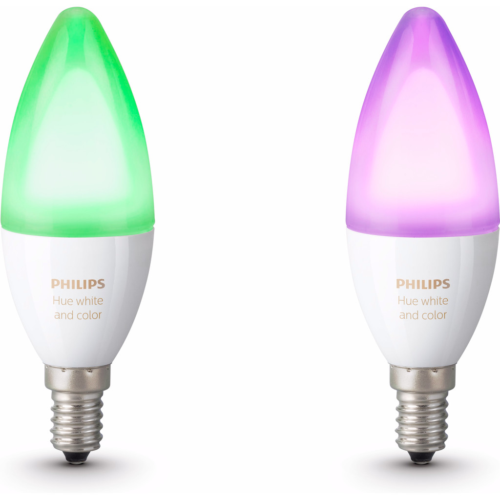 Philips Hue White and Color E14 DUOPACK in Lierde