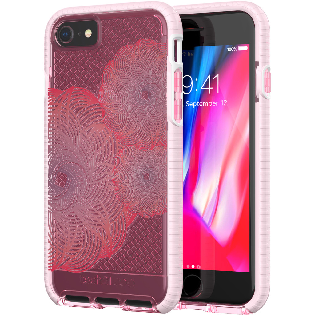 Tech21 Evo Check Evoke iPhone 8-7 Roze