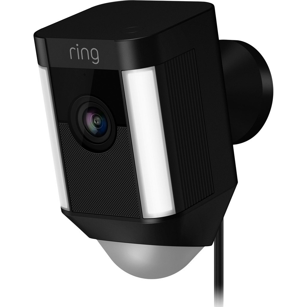 Image of Ring Spotlight Cam Wired Zwart