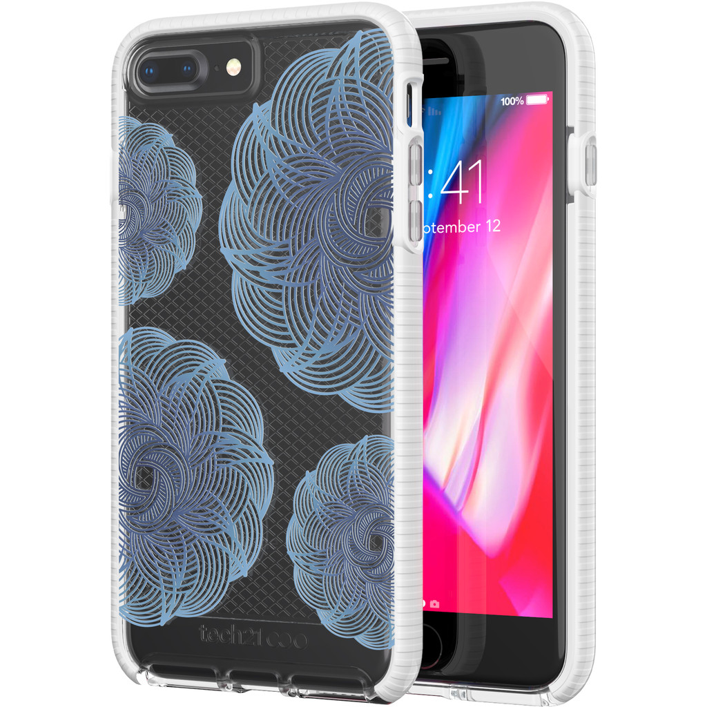 Tech21 Evo Check Evoke iPhone 8 Plus-7 Plus Blauw