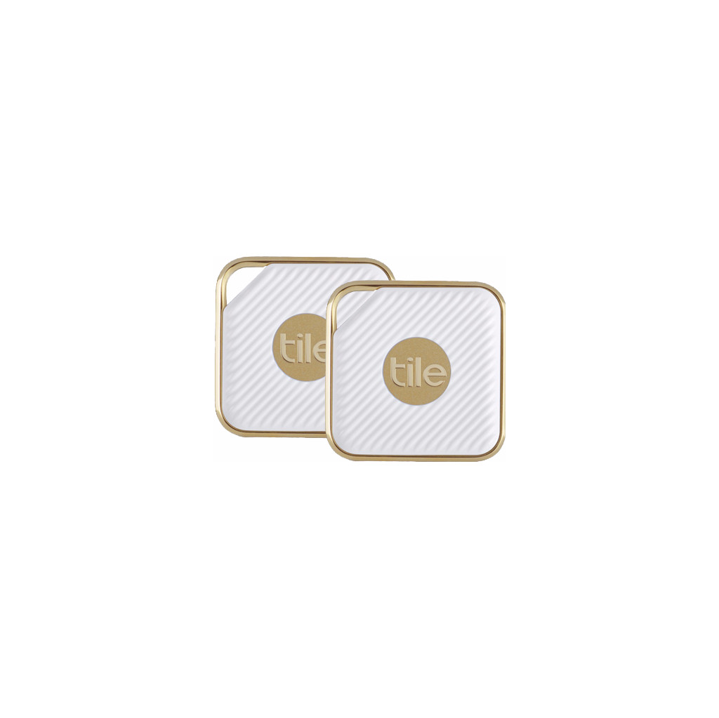 Tile Pro Style Bluetooth Tracker Wit-Goud 2-pack