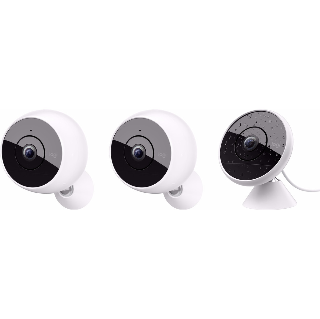 Image of Logitech Circle 2 Wireless Combo + Circle 2 Wired Single
