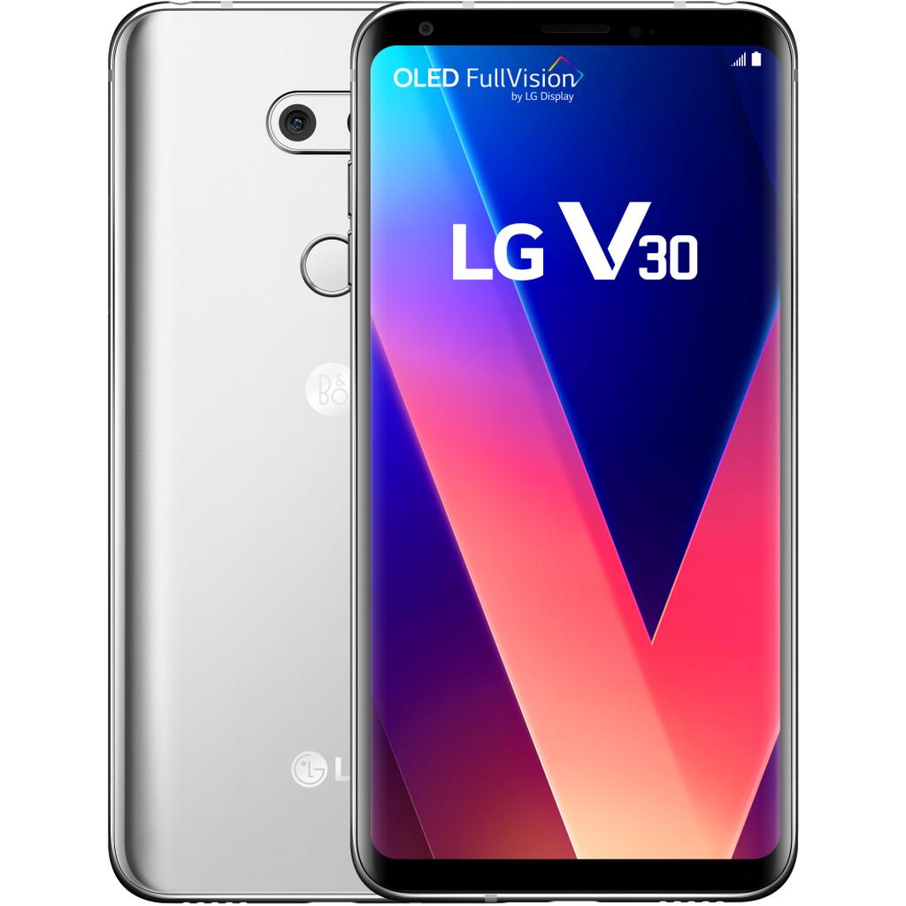LG V30 Zilver-64 GB opslagcapaciteit  6 inch Quad HD scherm  Android 7.1 Nougat