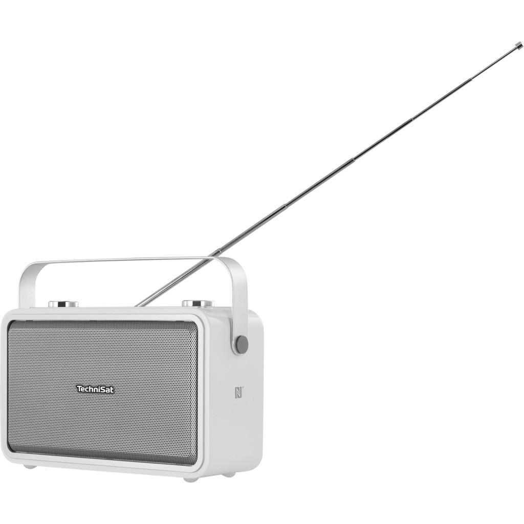 TechniSat Digitradio 225 Draagbaar Analoog & digitaal Zilver, Wit radio