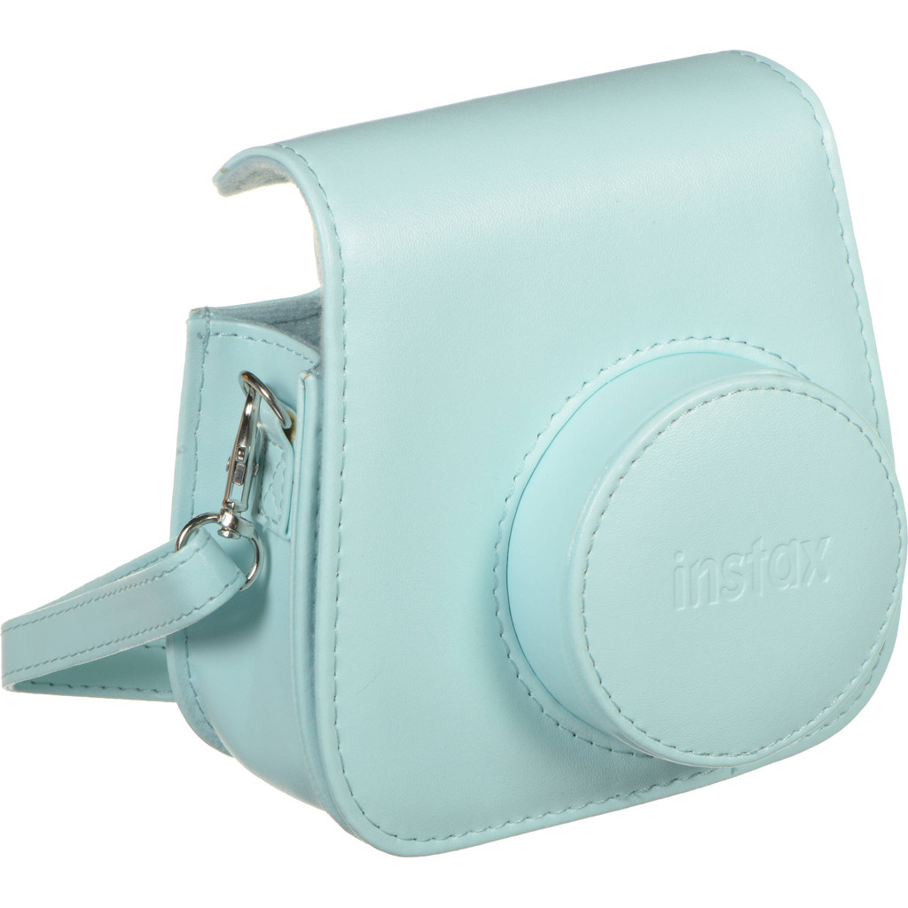 Fuji Instax Mini 9 Case Ice Blue in Beausaint