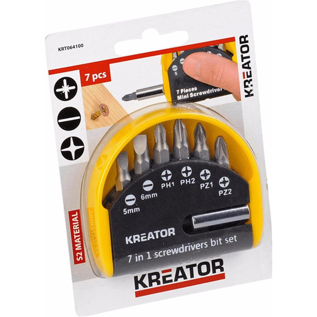 Kreator Bitset 7-delig Pz/Sl/Ph