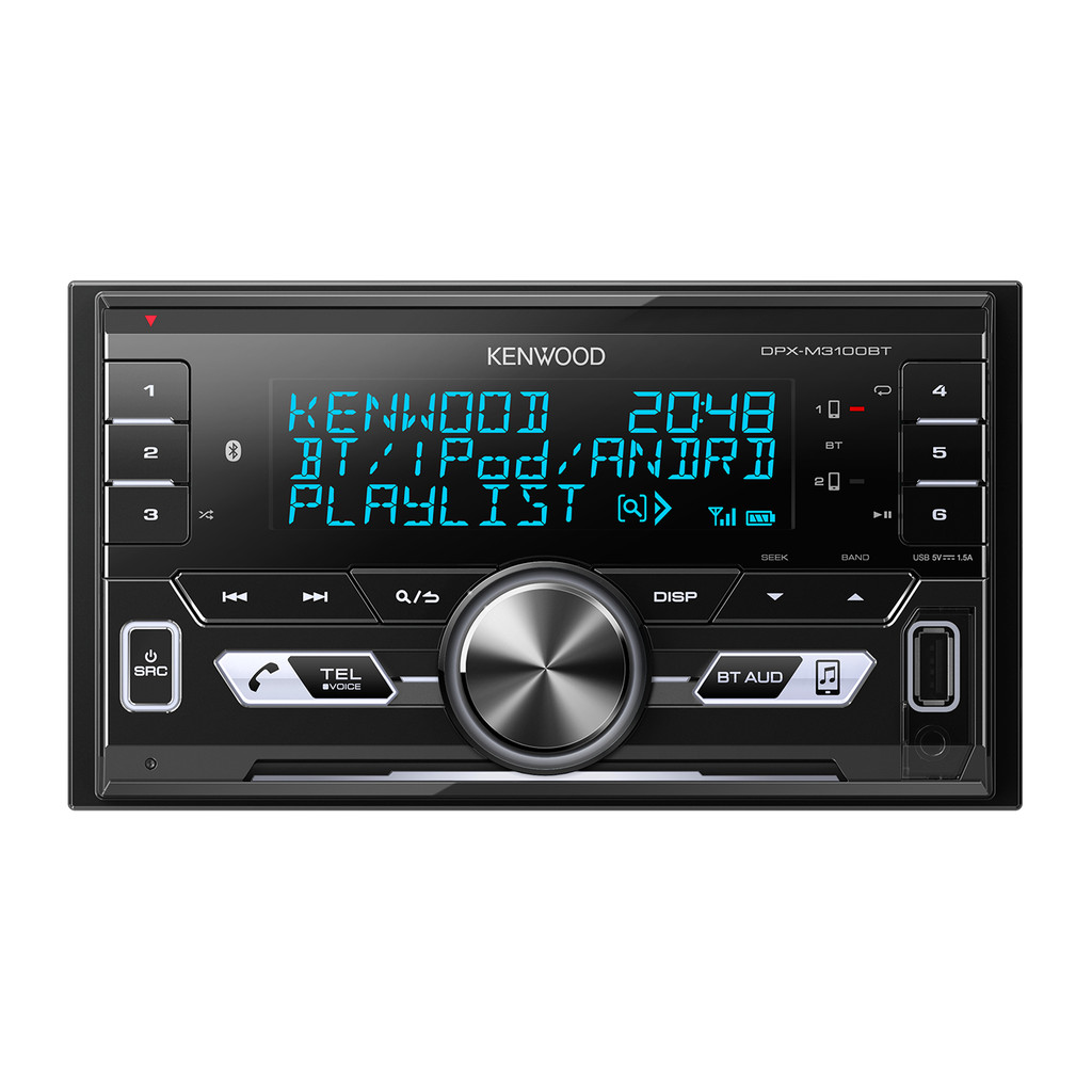 Kenwood DPX-M3100BT in De Valk