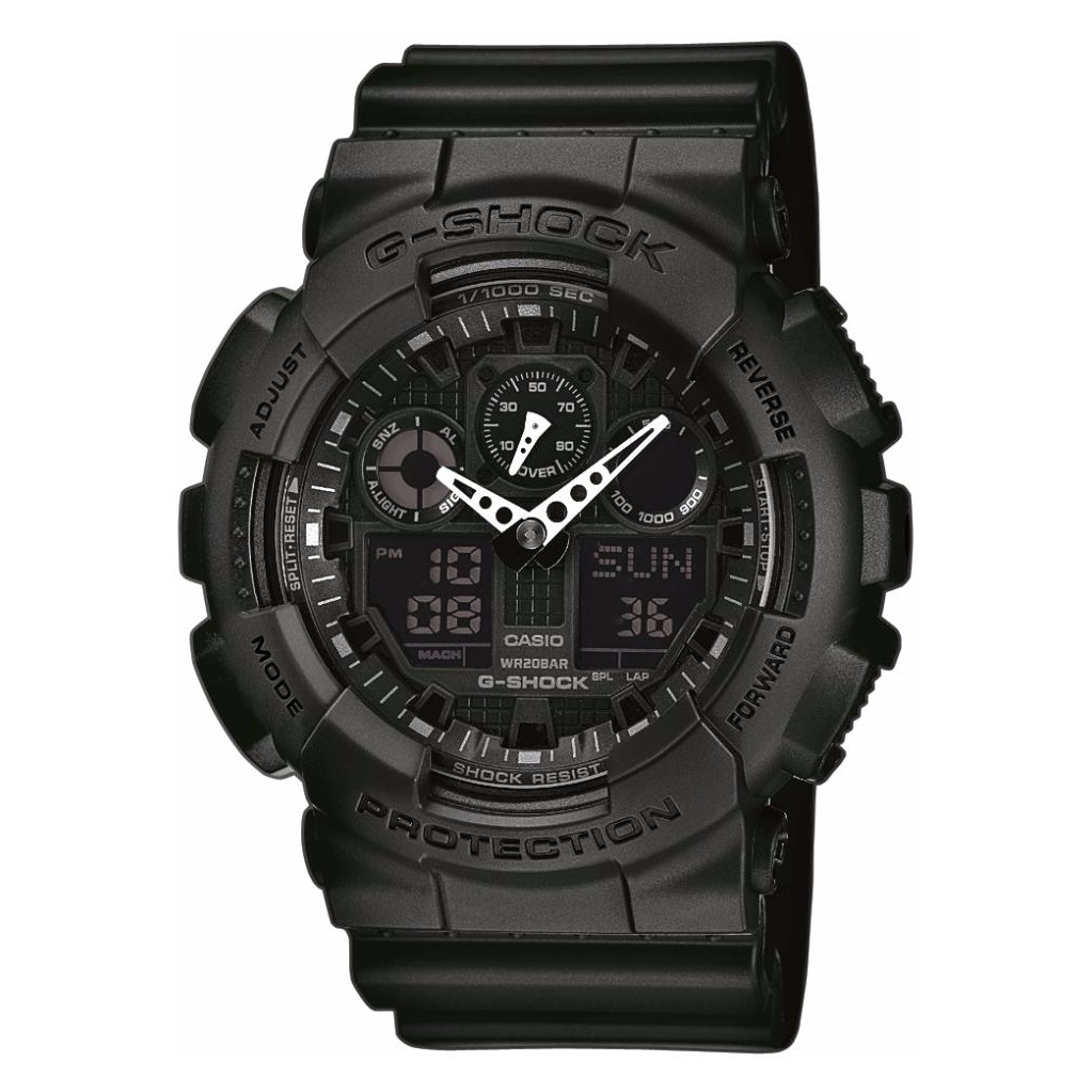 Casio G-SHOCK Classic GA-100-1A1ER in Wijnjeterpverlaat / Weinterpfallaat
