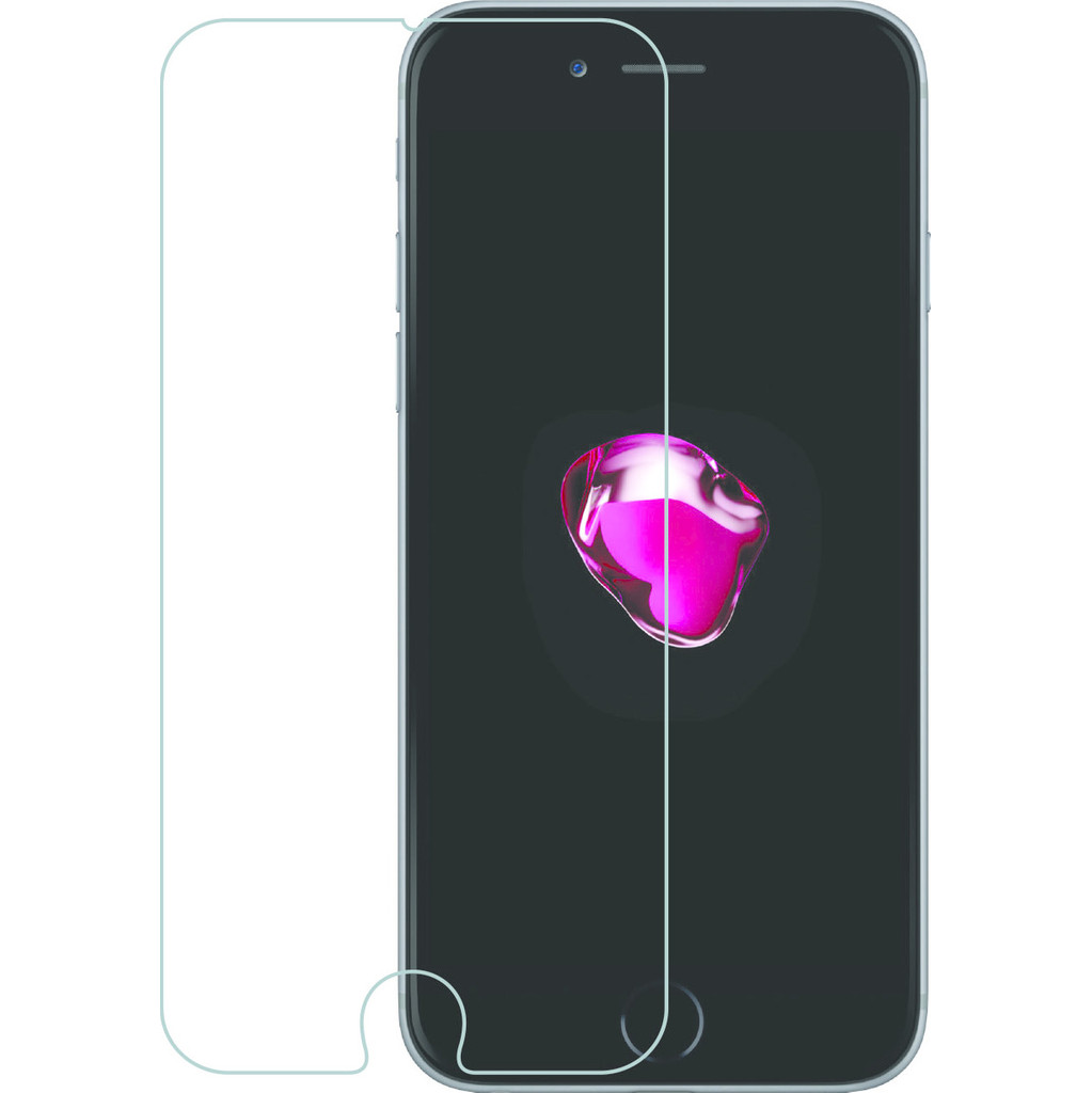 Azuri Gehard Glas Apple iPhone 7 Plus 8 Plus Screenprotector Glas Duo Pack
