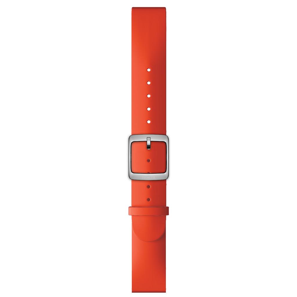 Nokia 18mm Siliconen Horlogeband Rood kopen