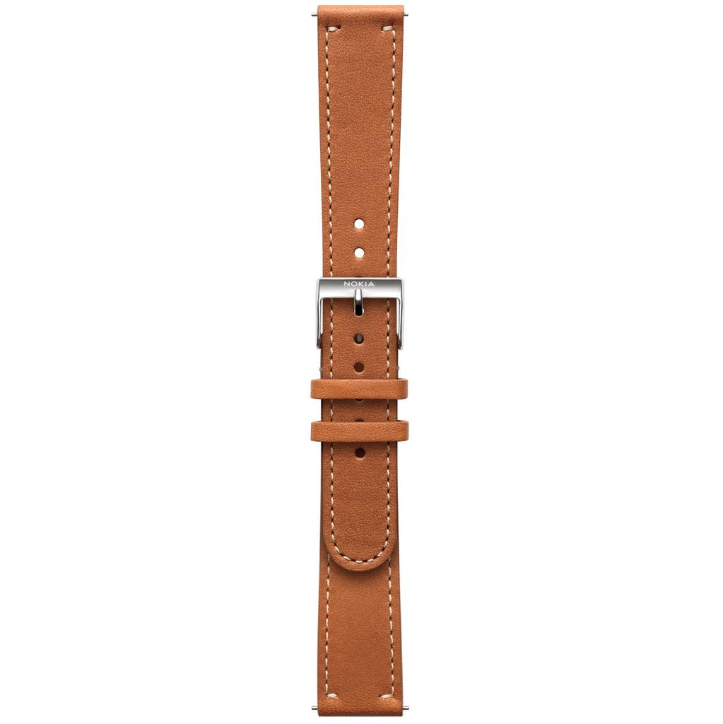 Nokia 18mm Leren Horlogeband Bruin kopen