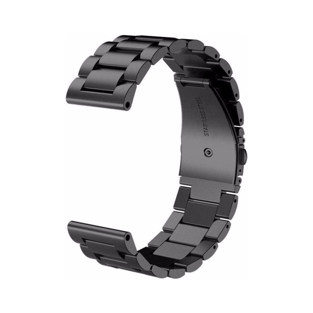 Just in Case Samsung Gear Sport RVS Horlogeband Zwart in Kortenoord
