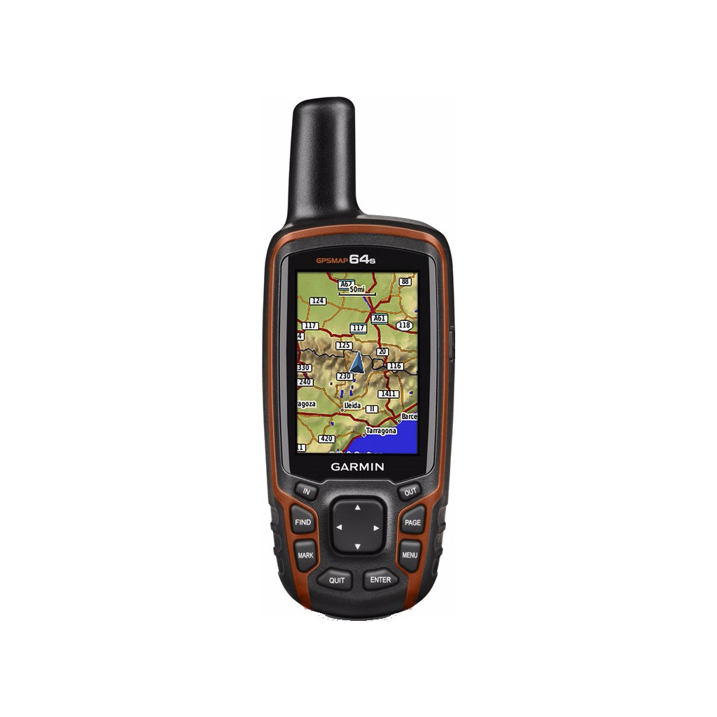 Garmin GPSMAP 64s in Kantje