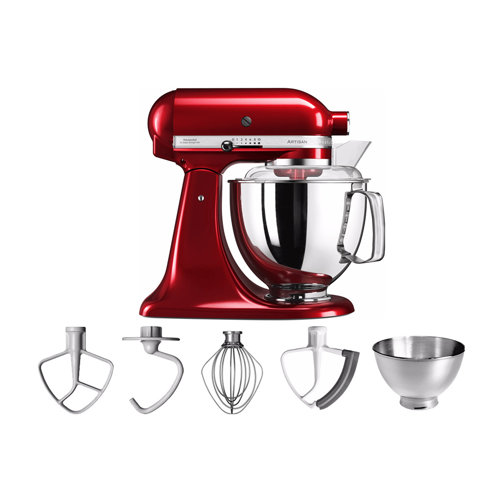 KitchenAid Artisan Mixer 5KSM175PS Appelrood in Serooskerke
