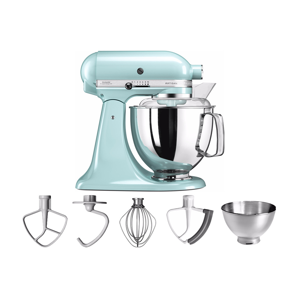 KitchenAid Artisan Mixer 5KSM175PS IJsblauw in Ren