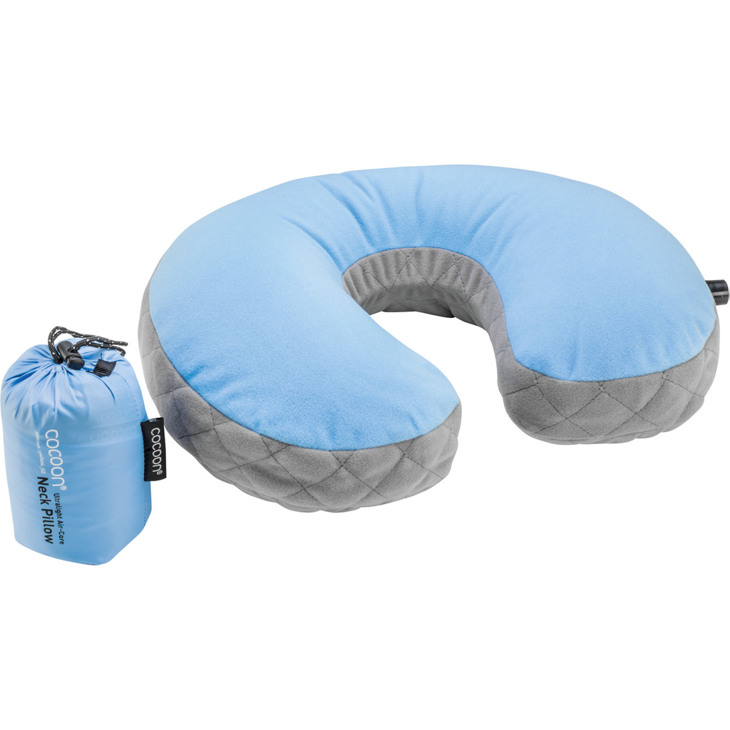 Cocoon Neck Pillow UL Blue in Grote Voort