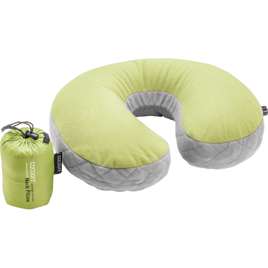 Cocoon Neck Pillow UL Green in Ewer