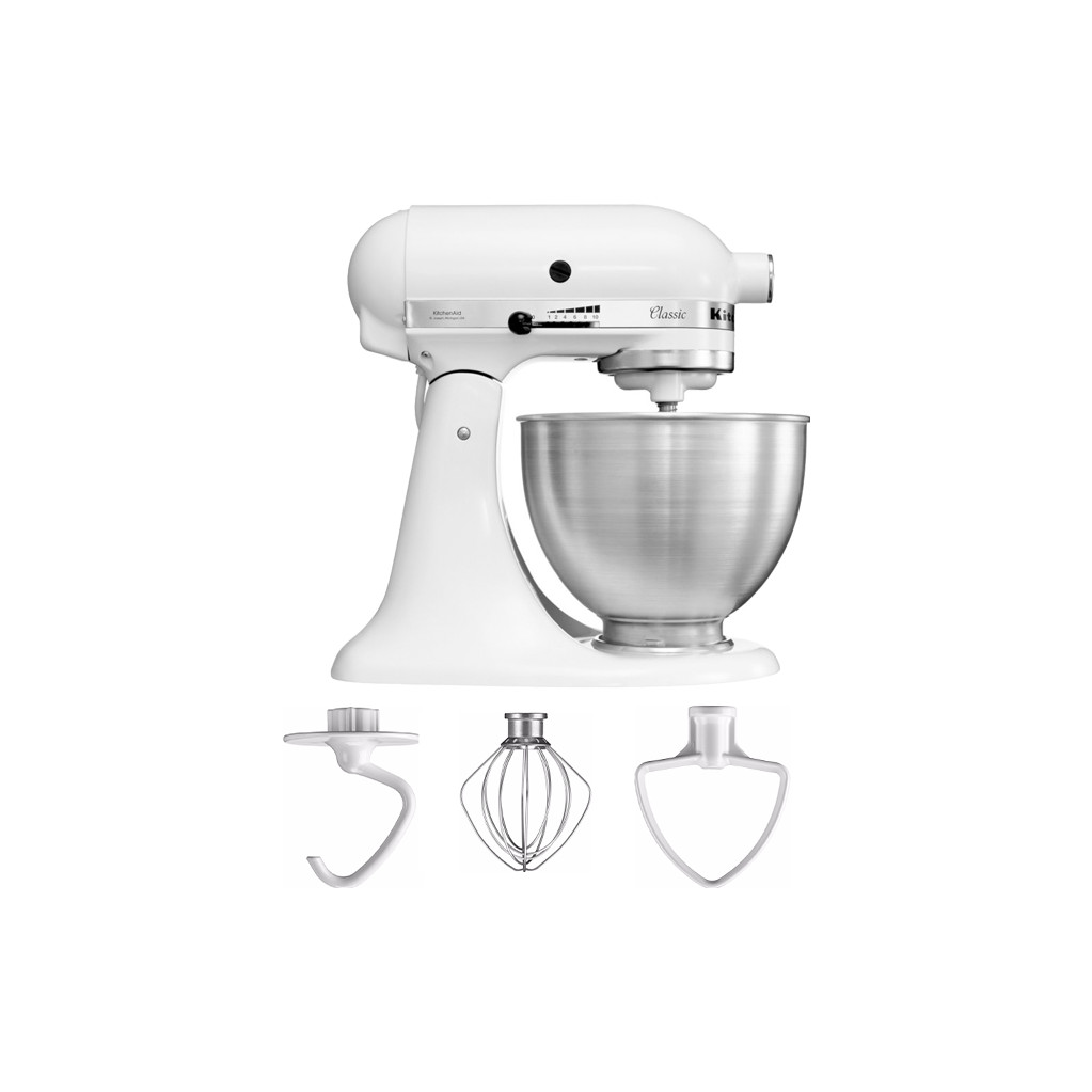 Kitchenaid Classic Mixer Keukenrobot K45ss Wit