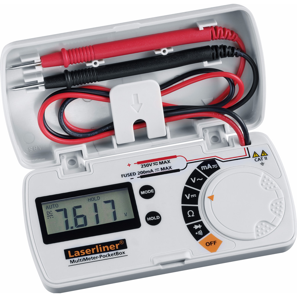 Laserliner MultiMeter-PocketBox in Kortemark